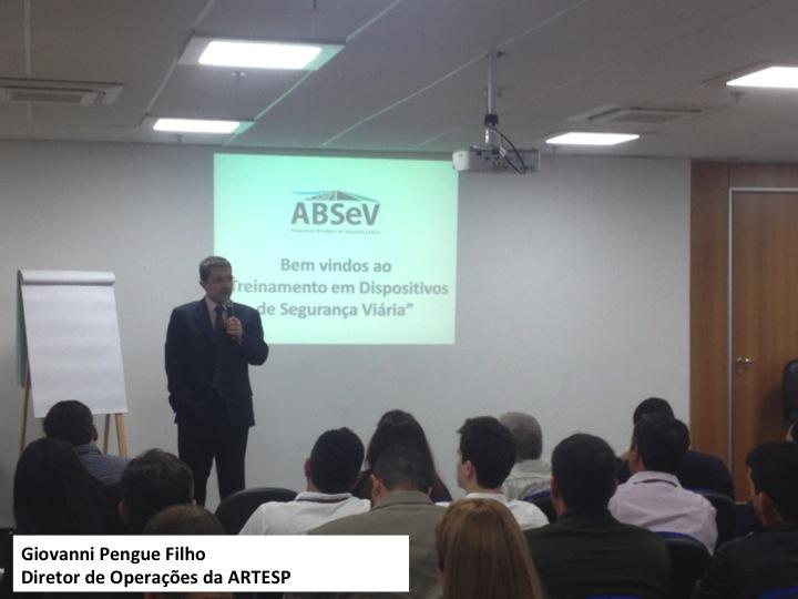 Giovanni Pengue Filho Diretor de Operações da ARTESP
